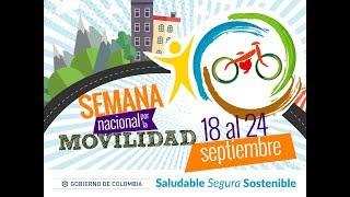 Miniatura Video Teleconferencia de Inauguración #SemanaMovilidadCO