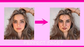 """How to do the """"perfect face check"""" or """"golden ratio"""""""