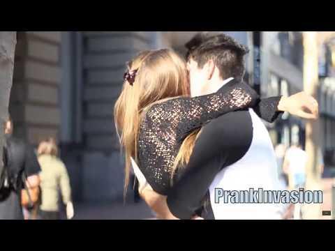 Valentines Day Kissing Prank Grendizer
