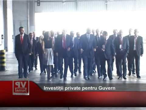 Investiții private pentru Guvern