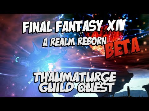 Final Fantasy XIV Online A Realm Reborn Walkthrough - Final Fantasy