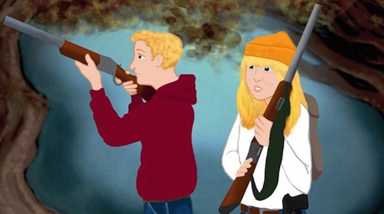 New NRA Cartoons Market Guns To Children thumbnail