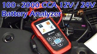 100-2000 CCA 12V / 24V Battery Analzyer - isYoung GC-4217