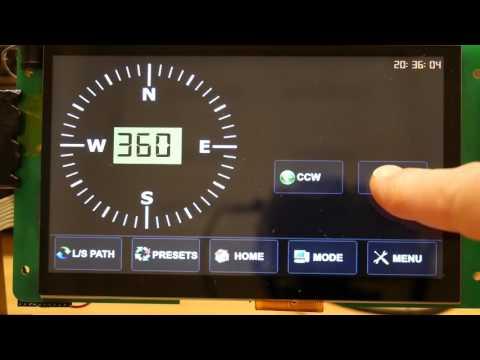 DIY Digital Azimuth Rotator Controller - смотреть онлайн на