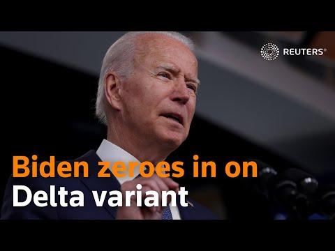 President Joe Biden warns Americans about coronavirus Delta variant