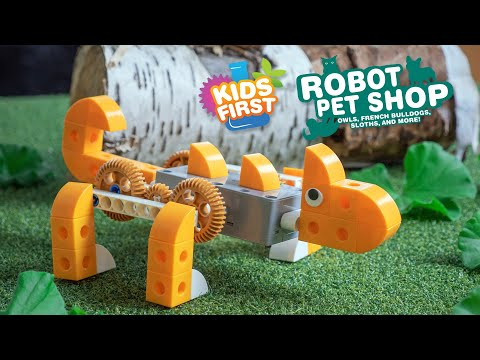 Youtube Video for Robot Pet Shop - Build 8 Motorized Animals
