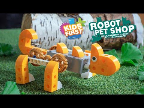 Youtube Video for Robot Pet Shop - Build 8 Motorised Animals