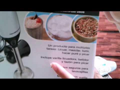 Batidora de Inmersión🍎 (1Hablemos de productos)