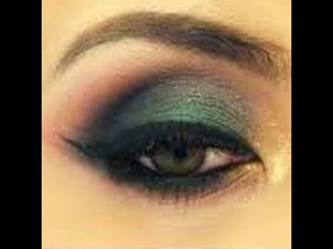 WEARABLE GREEN SMOKEY EYE FALL TUTORIAL