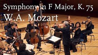 W.A. Mozart: Symphony in F Major, K. 75 (HD/1440p)