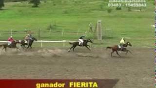 preview picture of video '2° Carrera-Hipodromo LA ILUSION-Domingo 14 de febrero de 2010'