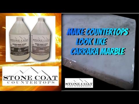 How to make Carrara Marble