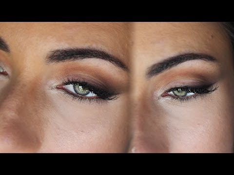 How To: Soft Liner Wing Using Only Eyeshadows | MakeupAndArtFreak