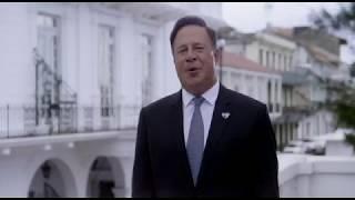 """JMJ. Presidente de Panama """"Es una gran alegría recibir al Papa Francisco"""" 2019-01-21"""