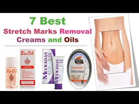 7 BEST STRETCH MARKS REMOVAL CREAMS AND OILS