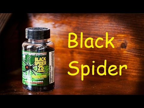 Жиросжигателя Black Spider - опыт от приема