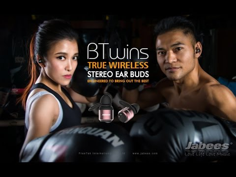 Jabees BTwins True Wireless Fitness Earbuds
