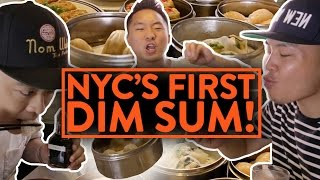 CLASSIC DIM SUM PARLOR! - Nom Wah NYC - Fung Bros Food - Video Youtube