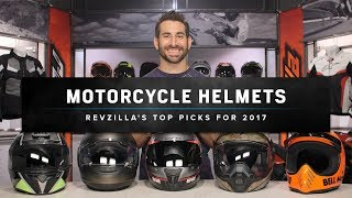 Best Motorcycle Helmets 2017 at RevZilla.com