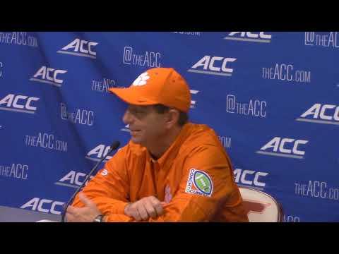 TigerNet: Dabo Swinney Virginia Tech postgame press conference