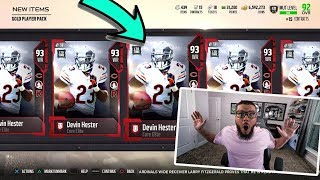 2 MILLION COIN PACK OPENING! LIMITED DEVIN HESTER + FAN FAVORITE PACK   MADDEN 18 PACK OPENING