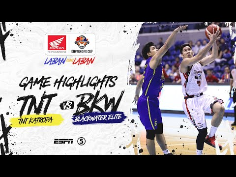 [Sport5]  Highlights: TNT vs Blackwater | PBA Governors' Cup 2019