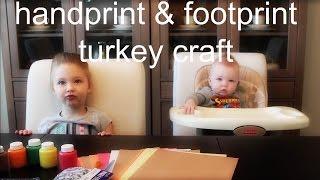 HANDPRINT & FOOTPRINT TURKEY CRAFTS