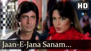 Sanam Tum Jahan - Amitabh Bachchan - Parveen Babi