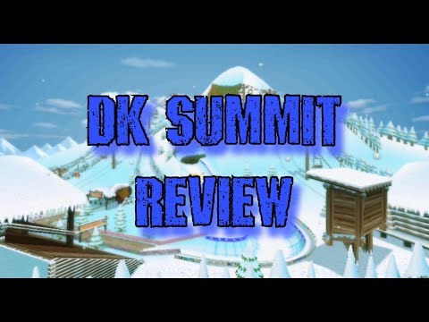 [MKWII] DK SUMMIT/DK'S SNOWBOARD CROSS REVIEW!!!