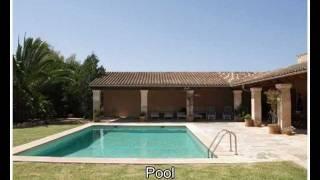 preview picture of video 'Langzeitmiete Mallorca Immobilien: renovierte Pool Finca mit Bodega und Heizung bei Campos'