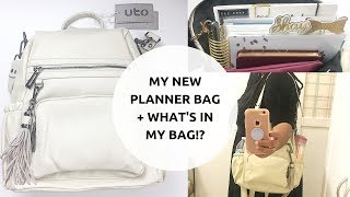 I Finally Found A New Planner/Laptop Bag! + WHATS IN MY BAG!?