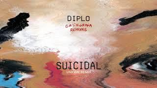 Diplo - Suicidal (feat. Desiigner) [UNKWN Remix] {Official Audio}