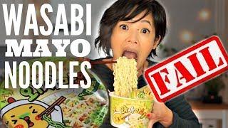 WASABI MAYO Noodle Challenge | Samyang WasaMayo
