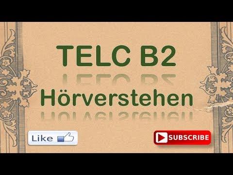 B2 Hören TELC test mit lösung