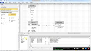 Video 2a: Drawing Logical Data Models Using Visio 2010