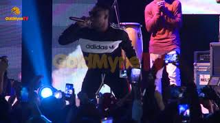 L A X'S PERFORMANCE AT CLOSE UP COOL BREEZE PARTY UNILAG EDITION