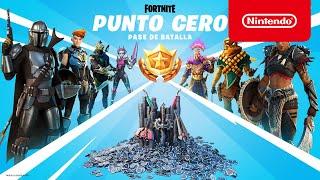 Nintendo Fortnite: Capítulo 2 - Temporada 5: Punto cero: pase de batalla anuncio