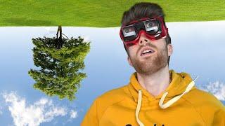 Leben mit der Umkehrbrille   Selbstexperiment