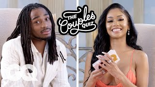 The Couples Quiz - Saweetie Asks Quavo 44 Questions