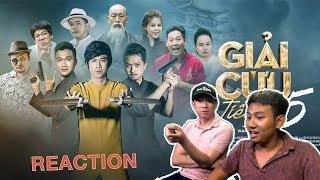 BLACKBI phát hiện anh Trung qua Thái cắt rồi | BlackBi Reaction Giải Cứu Tiểu Thư 5 - Hồ Việt Trung