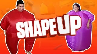 """GRAPE GIRL"" Shape Up - Husband vs Wife"