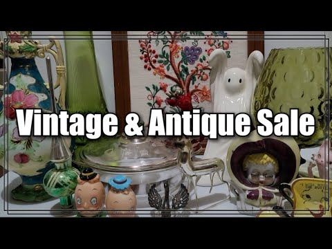 Vintage & Antique Sale - Reselling Thrifted Goods - Thrifting For Profit