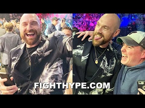 """TYSON FURY SHOWS WHY HE'S """"THE PEOPLE'S CHAMPION""""; DANCING, SINGING, & JAMMING TO LIZZO"""