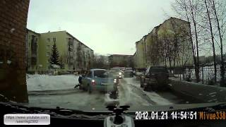 Подборка ДТП и Аварий Декабрь 2014 Car Crash Compilation Помощь на Дороге