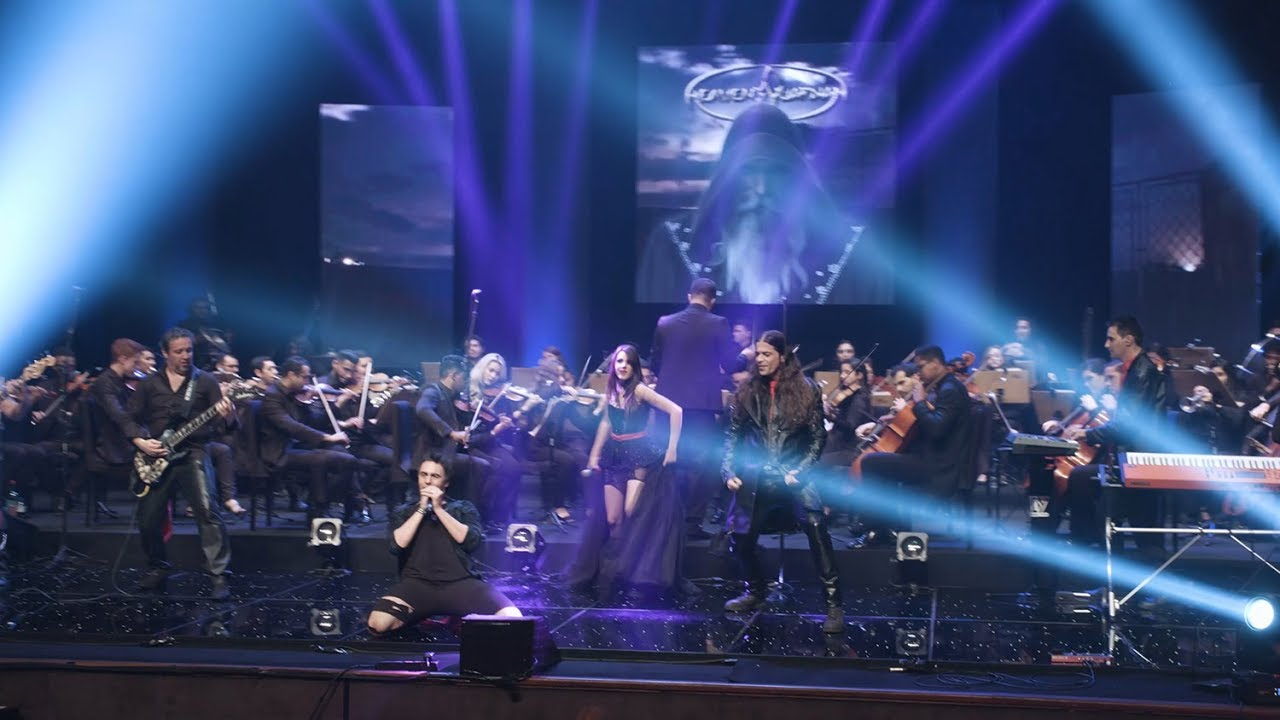"""Holy Sky"" performed by Heaven's Guardian & Youth Symphonic Orchestra of Goiás."