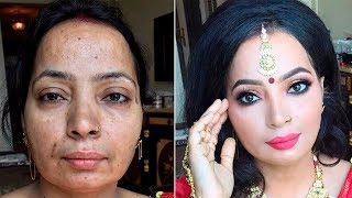 The Power of Makeup ! Indian makeup by Goar Avetisyan - Download this Video in MP3, M4A, WEBM, MP4, 3GP