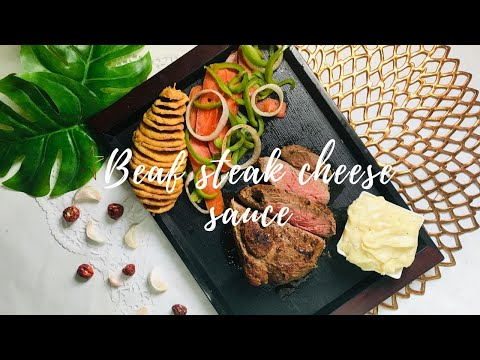 Steak – Cheese Sauce – Juicy And Spicy !!