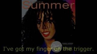 "Donna Summer - Love Is in Control (Dance Remix) LYRICS SHM ""Donna Summer"" 1982"