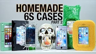 Homemade IPhone 6S Cases Drop Test Part 2!