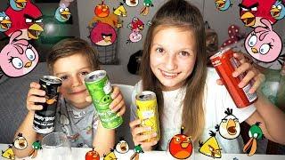 TESTUJEMY I MIKSUJEMY NAPOJE ANGRY BIRDS ❤ CookieMint
